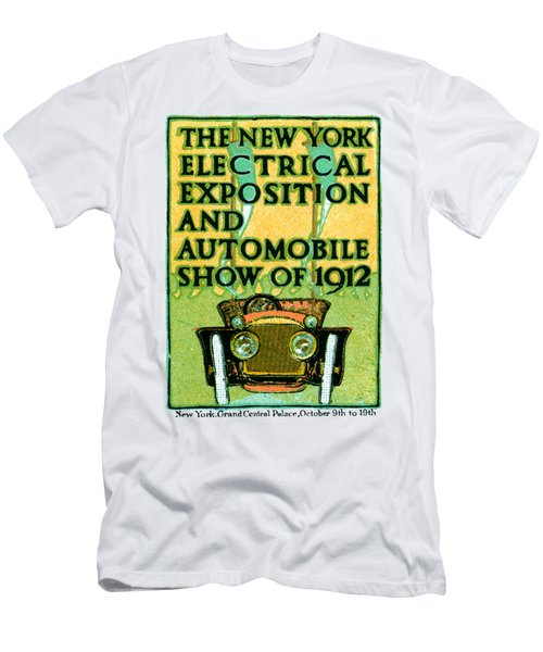 1912 Electric Expo And Auto Show Men's T-Shirt (Athletic Fit)