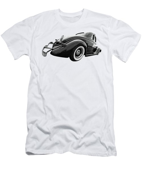 1935 Ford Coupe In Black And White Men's T-Shirt (Athletic Fit)