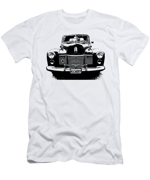 1941 Cadillac Front Blk Men's T-Shirt (Athletic Fit)