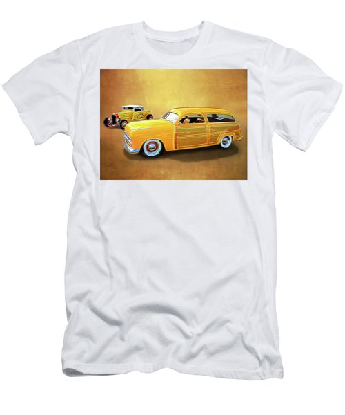 1949 Woody And 1932 Roadster Men's T-Shirt (Athletic Fit)