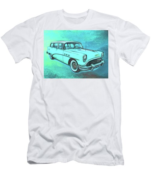 1954 Buick Wagon Men's T-Shirt (Athletic Fit)