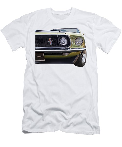 1969 Mustang Mach 1  Men's T-Shirt (Athletic Fit)