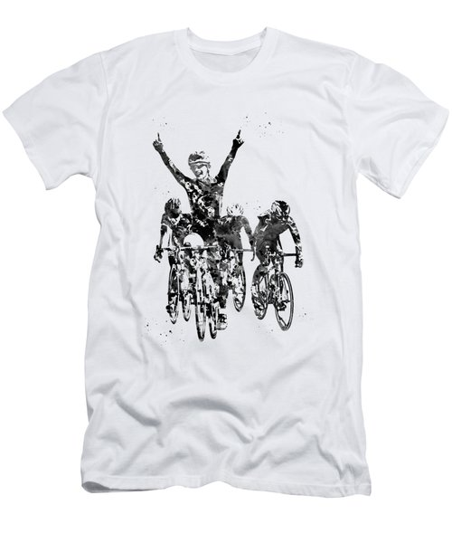Cycling Race Men's T-Shirt (Athletic Fit)