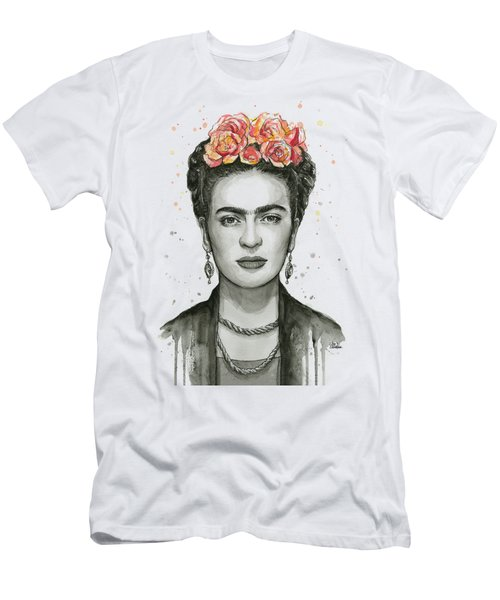 Frida Kahlo Portrait Men's T-Shirt (Athletic Fit)