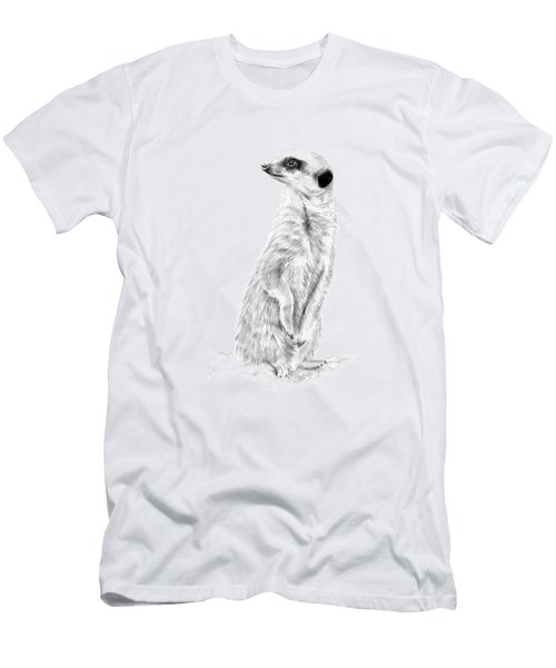 Meerkat In Charge Men's T-Shirt (Athletic Fit)