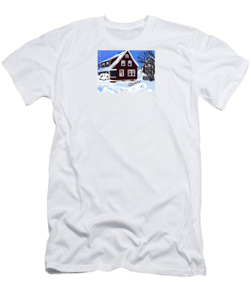 22 Hillside Avenue Men's T-Shirt (Athletic Fit)