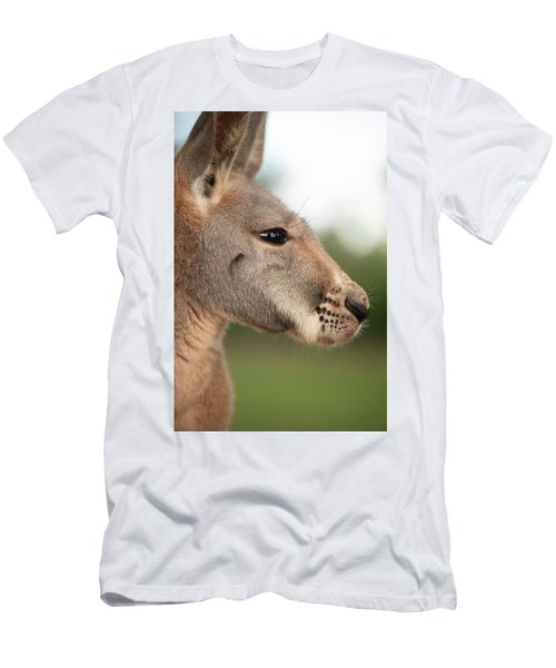 Men's T-Shirt (Athletic Fit) featuring the photograph Kangaroo Outside During The Day Time. by Rob D Imagery