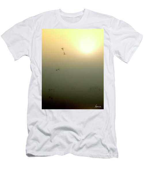 Taking Wing Men's T-Shirt (Athletic Fit)