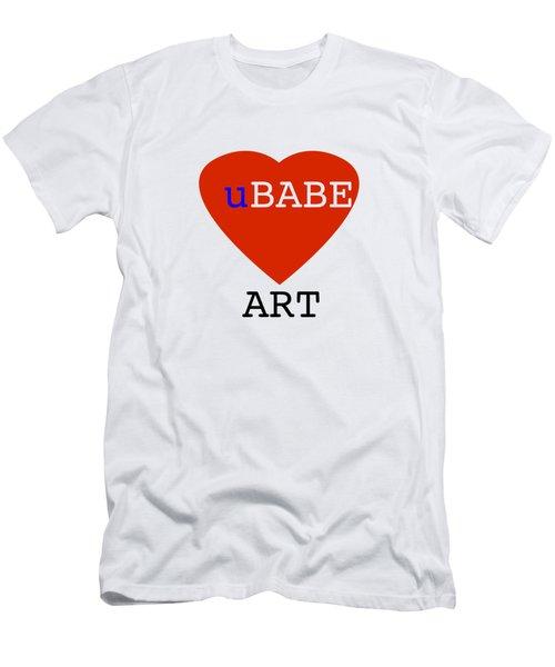 uBABE Art Men's T-Shirt (Athletic Fit)
