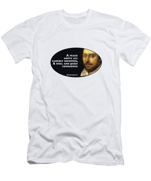 A Peace Above All #shakespeare #shakespearequote Men's T-Shirt (Athletic Fit)