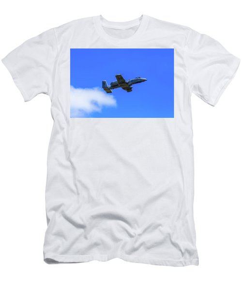 A-10c Thunderbolt II In Flight Men's T-Shirt (Athletic Fit)