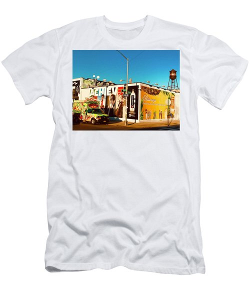 A Brooklyn Street Corner Men's T-Shirt (Athletic Fit)