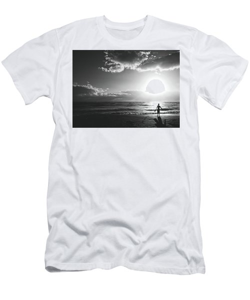 A Day Of Surfing Begins Men's T-Shirt (Athletic Fit)
