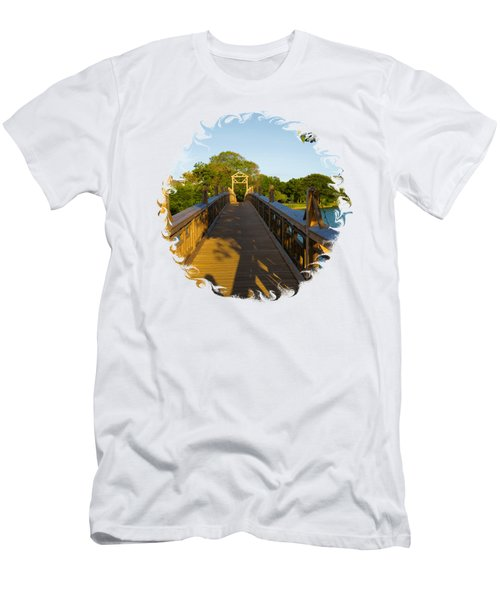 A Golden Afternoon In Spring Lake New Jersey Men's T-Shirt (Athletic Fit)