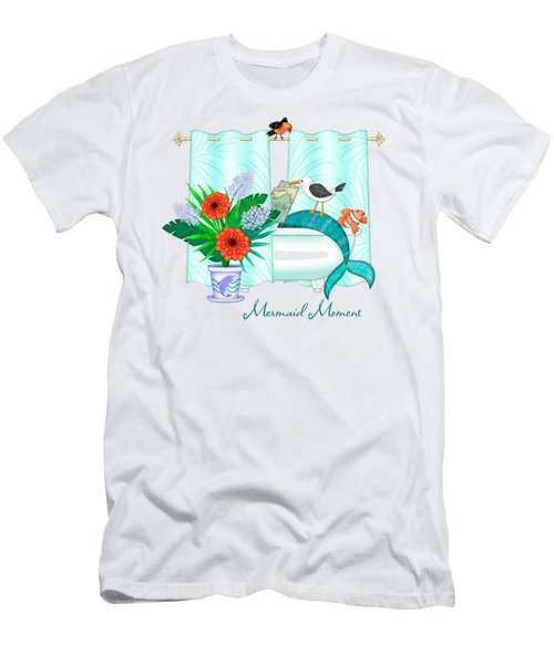 A Mermaid Moment Men's T-Shirt (Athletic Fit)
