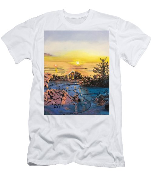 A Perfect Prairie Morning  Men's T-Shirt (Athletic Fit)