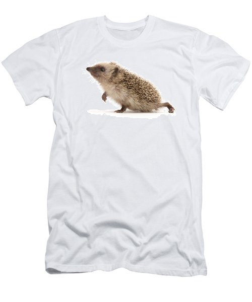 Men's T-Shirt (Athletic Fit) featuring the photograph A Prickly Problem by Warren Photographic