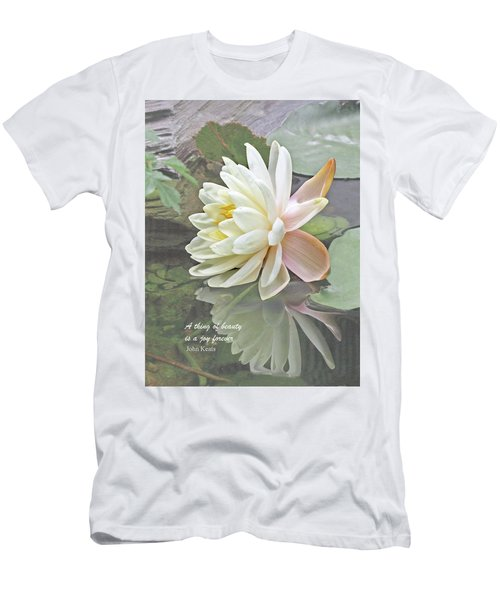 A Thing Of Beauty Is A Joy Forever Men's T-Shirt (Athletic Fit)