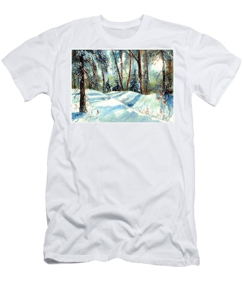A True Winter Wonderland Men's T-Shirt (Athletic Fit)
