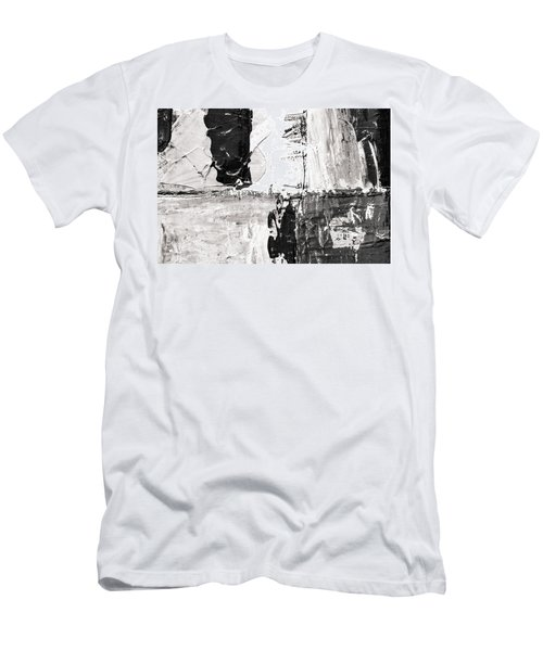 Men's T-Shirt (Athletic Fit) featuring the painting Ab11 by Arttantra