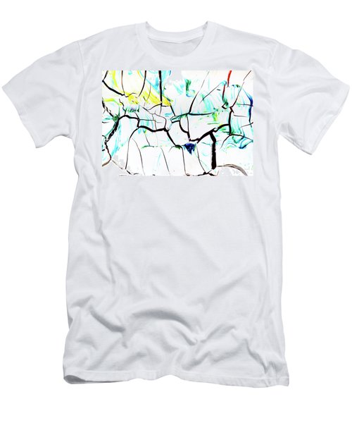 Men's T-Shirt (Athletic Fit) featuring the painting Ab19-12 by Arttantra