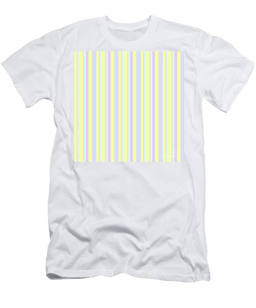 Abstract Fresh Color Lines Background - Dde595 Men's T-Shirt (Athletic Fit)
