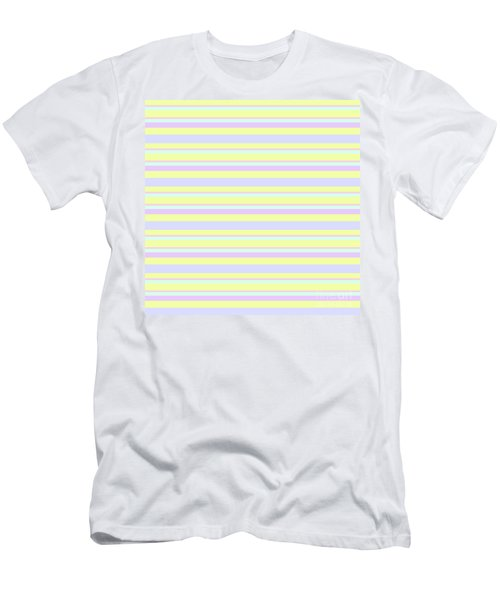 Abstract Horizontal Fresh Lines Background - Dde596 Men's T-Shirt (Athletic Fit)
