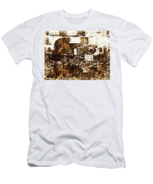 Abstract Map Men's T-Shirt (Athletic Fit)