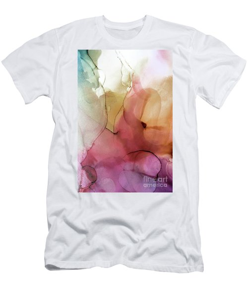 Abstract Summer Nectar Men's T-Shirt (Athletic Fit)