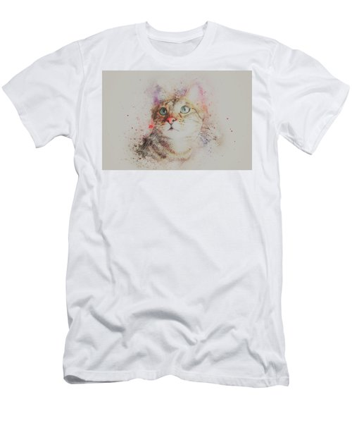 Abyssinian Cat Men's T-Shirt (Athletic Fit)