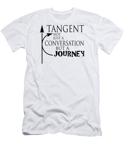 Adhd Shirt - Tangent, Not Just A Conversation Men's T-Shirt (Athletic Fit)
