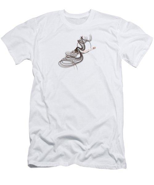 Aerial Hoop Dancing Happiness Men's T-Shirt (Athletic Fit)