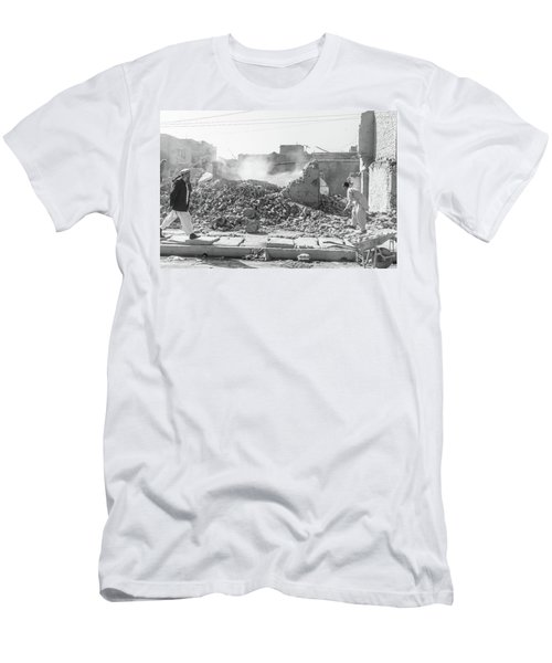 Men's T-Shirt (Athletic Fit) featuring the photograph After The Collapse by SR Green