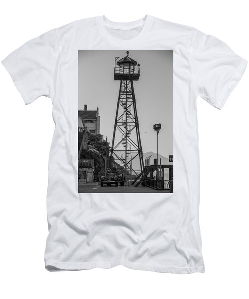 Alcatraz Light House Men's T-Shirt (Athletic Fit)