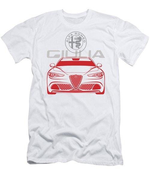 Alfa 2017 Giulia Men's T-Shirt (Athletic Fit)