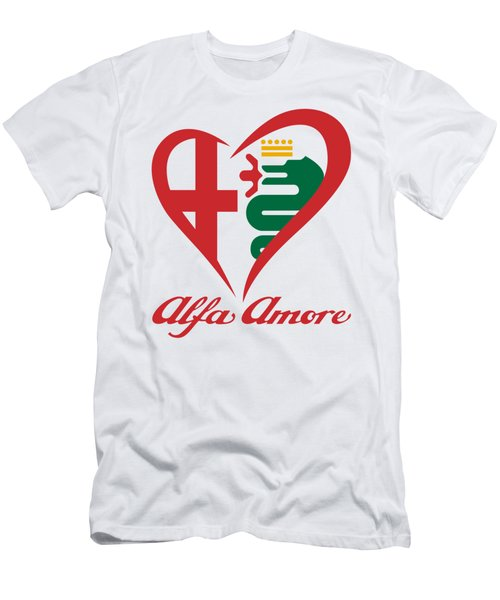 Alfa Amore Men's T-Shirt (Athletic Fit)