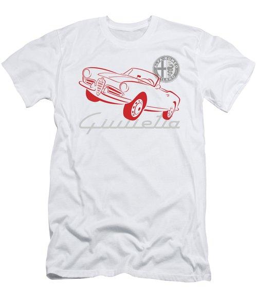 Alfa Giulietta Spider-1 Men's T-Shirt (Athletic Fit)
