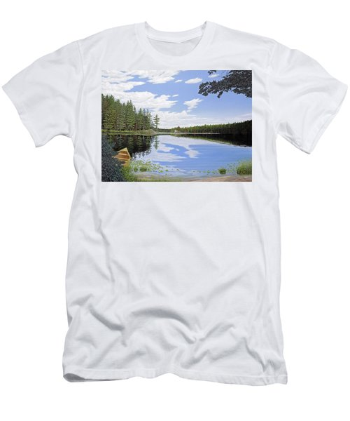 Algonquin Portage Men's T-Shirt (Athletic Fit)