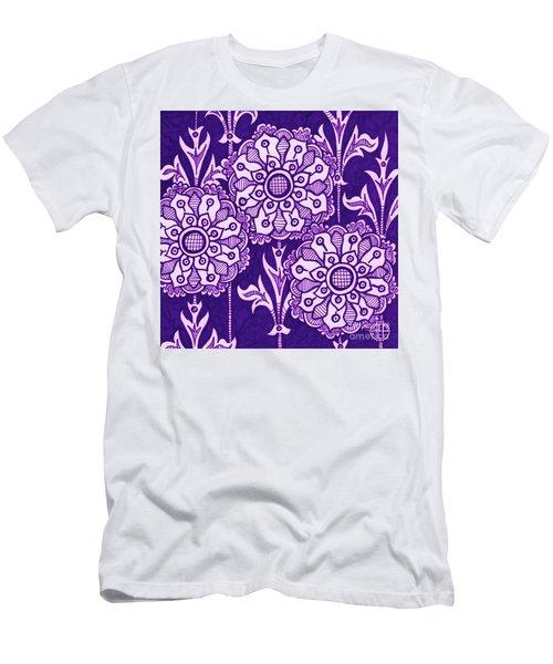 Alien Bloom 1 Men's T-Shirt (Athletic Fit)