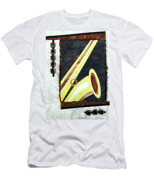 All That Jazz Saxophone Men's T-Shirt (Athletic Fit)