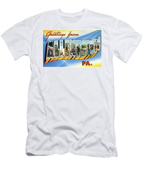 Allentown Greetings Men's T-Shirt (Athletic Fit)