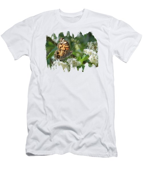 American Painted Lady Men's T-Shirt (Athletic Fit)