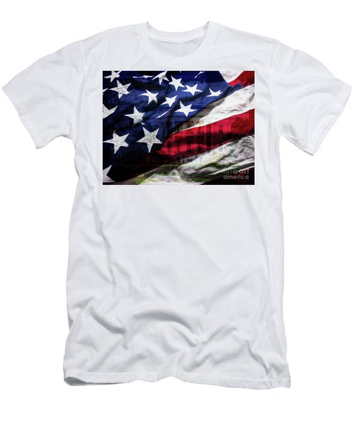 American White House Men's T-Shirt (Athletic Fit)