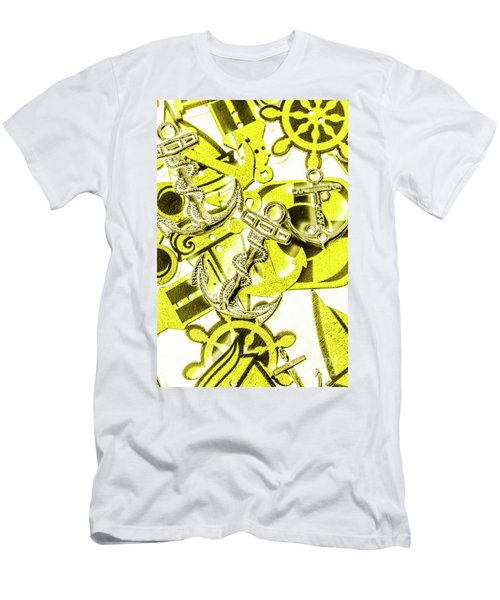 Anchors Above - Icons Below Men's T-Shirt (Athletic Fit)