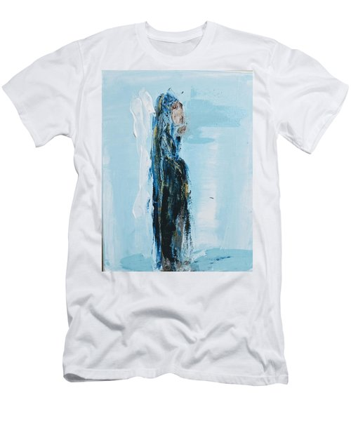 Angel With Child Men's T-Shirt (Athletic Fit)