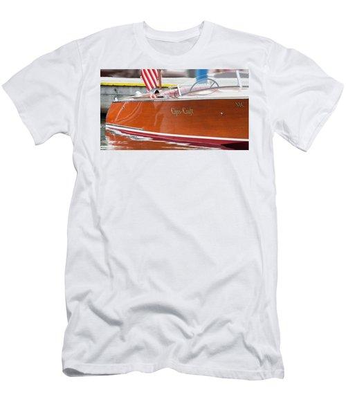 Antique Wooden Boat 1305 Men's T-Shirt (Athletic Fit)