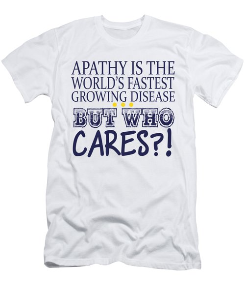 Apathy Men's T-Shirt (Athletic Fit)