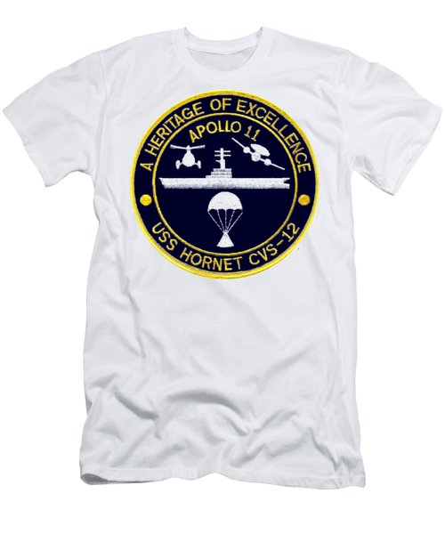 Apollo 11 Recovery Cvs 12 Men's T-Shirt (Athletic Fit)