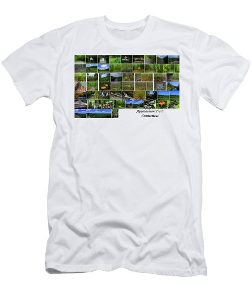 Men's T-Shirt (Athletic Fit) featuring the photograph Appalachian Trail Connecticut by Raymond Salani III