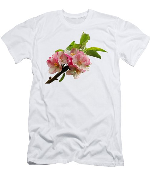 Apple Blossom Men's T-Shirt (Athletic Fit)